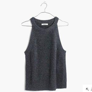 Madewell valley sweater tank